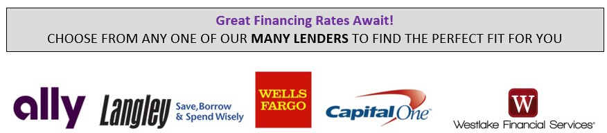 We have many lenders to finance from